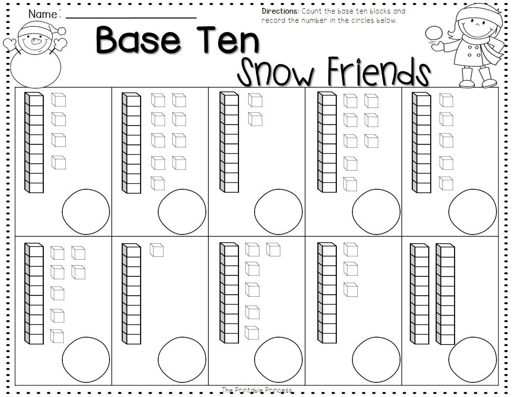 Winter Activities And Centers For Kindergarten