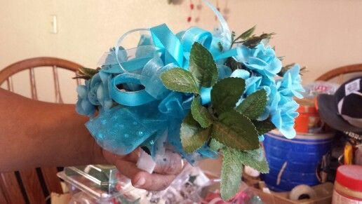 Turquoise Corsage 2
