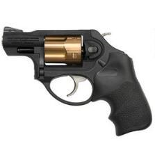 "Ruger LCRx .38 Special +P Double Action Revolver 1.87"" Barrel 5 Rounds Hogue Tamer Grip Copper Cylinder Matte Black"