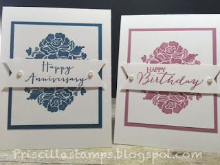 Stampin' Amigos: One Card, Two Ways