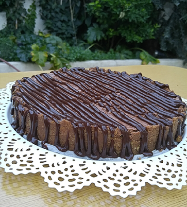 نوتيلا تشيز كيك من اسراء سحويل Nutella Cheesecake By Esraa Sehweil Desserts Yummy Sweet