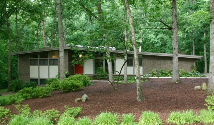 Mid-century Modern Restoration | Modern Charlotte, NC Homes For ...