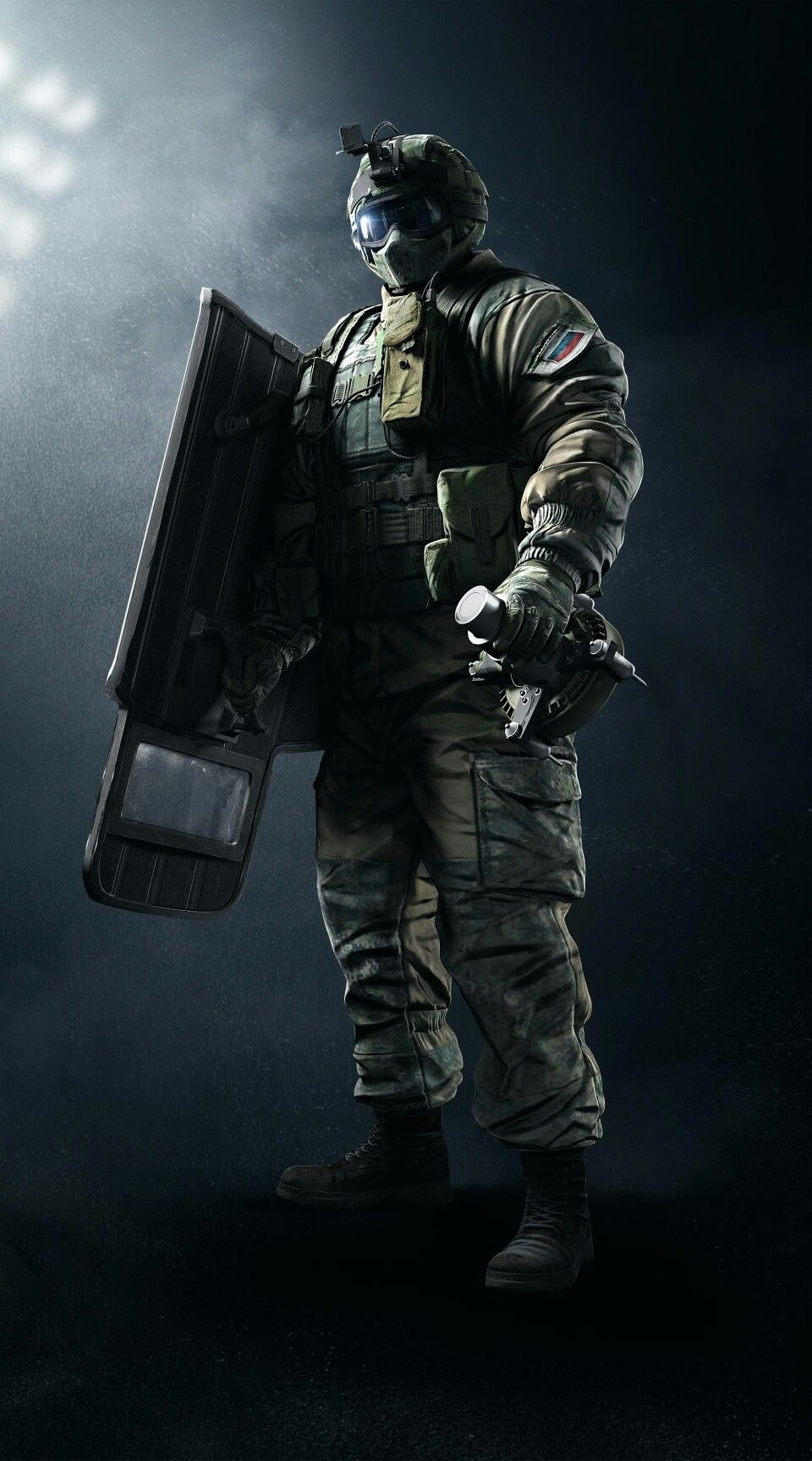 Rainbow six siege Fuze | Rainbow six siege art, Tom clancy's ...