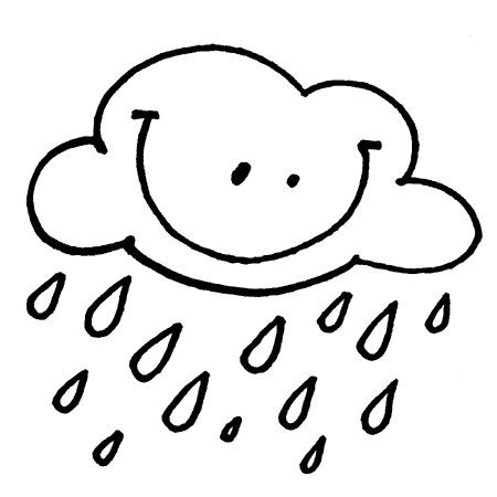 Rain Coloring Pages Coloring Pages Coloring Pictures Colorful Pictures