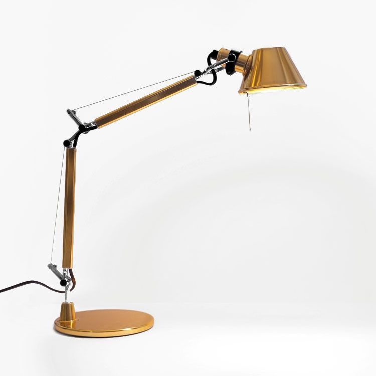 Limited Edition Tolomeo Micro Gold Modern Table Lamp Table Lamp Lamp
