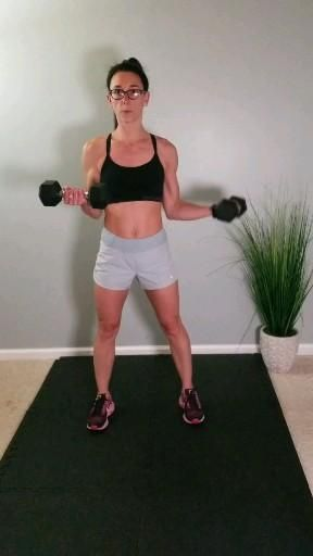 Upper body workout at home workout