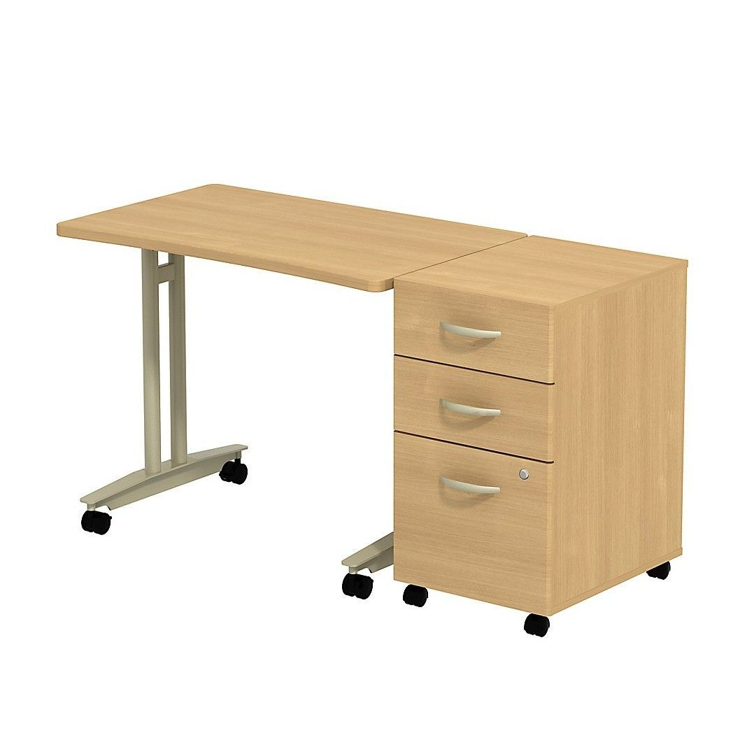 Series C Adjustable Height Mobile Table