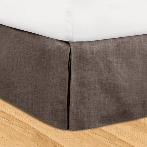 Found It At Wayfair Fleuristes 3 Piece Adjustable Bed Skirt Set Adjustable Beds Bedskirt Bed
