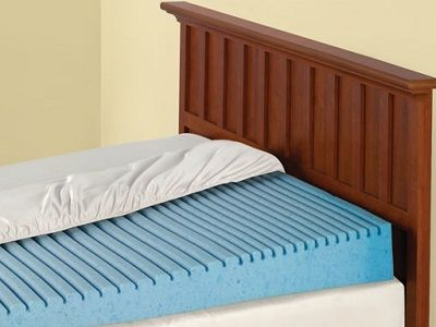 The Inclined Mattress Topper - provides relief from the symptoms of heartburn, sinus congestion, and snoring