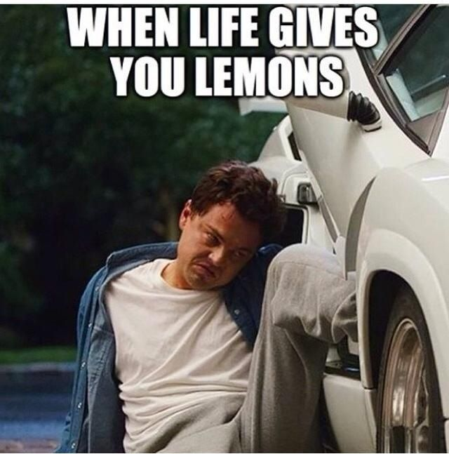 When Life Gives You Lemons The Wolf Of Wall Street Just As Funny