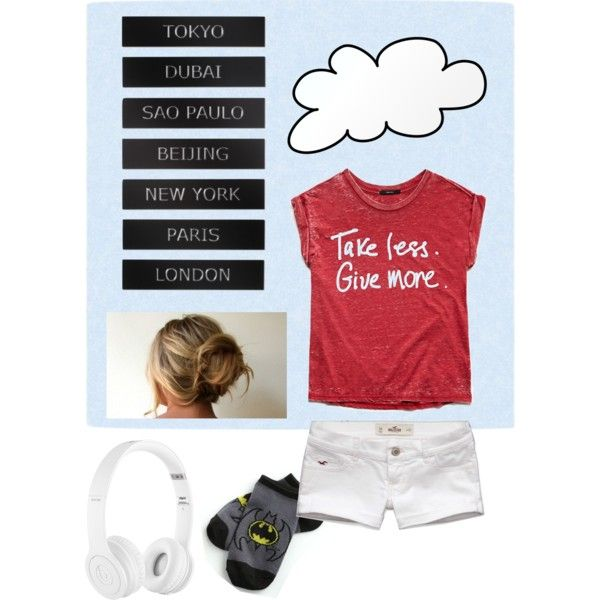 Untitled #64 by briedickerson on Polyvore featuring polyvore fashion style Forever 21 Beats by Dr. Dre Hollister Co.