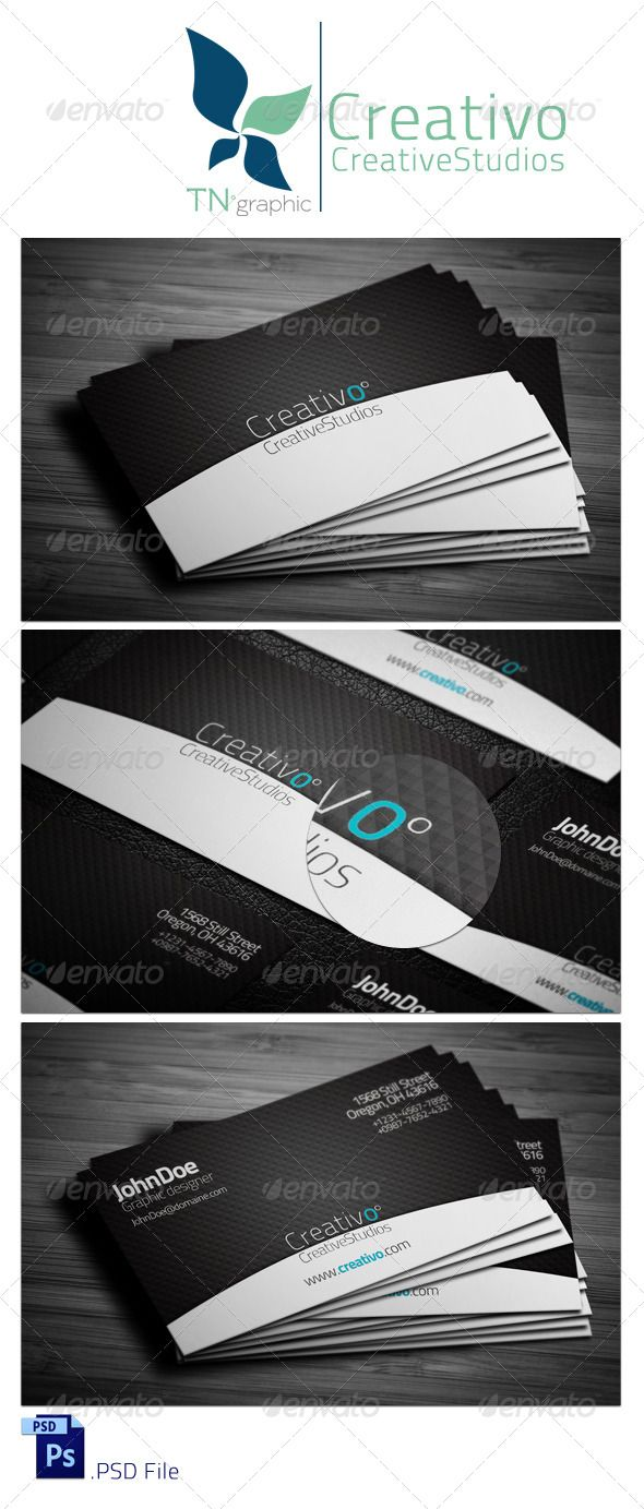 Creativo business card reheart