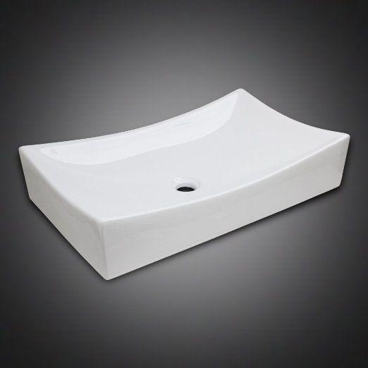 Fantastic Amazon Com Low Profile Ceramic Bathroom Faucet Vessel Interior Design Ideas Helimdqseriescom