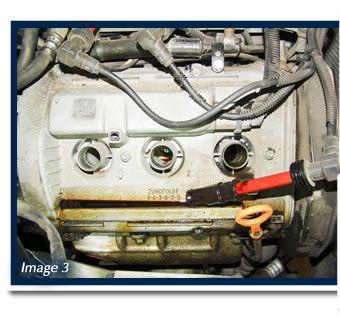 vw oil leak vw passat oil leaks valve cover gasket 1 car diy