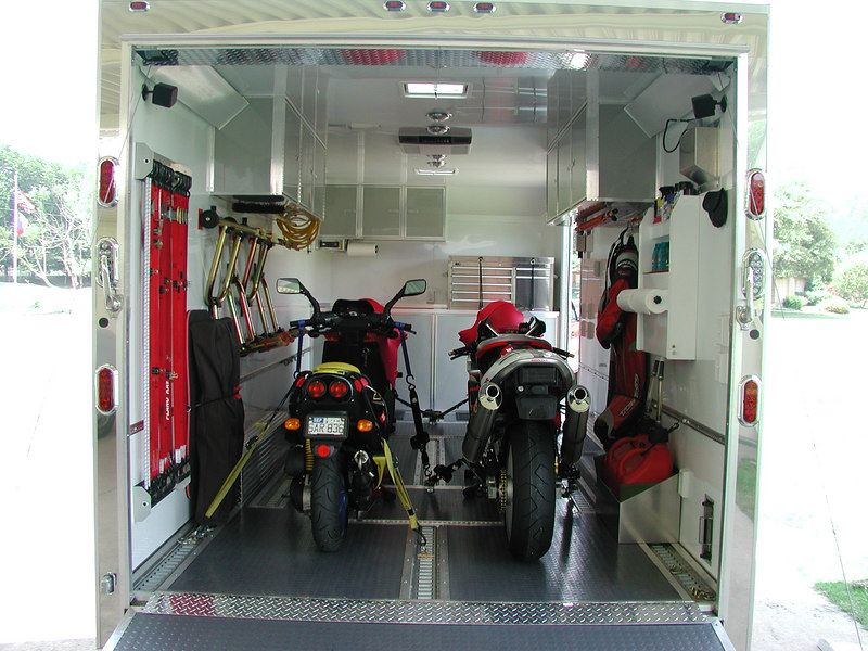 Image Result For Cargo Trailer Setup Ideas For Motorcycle