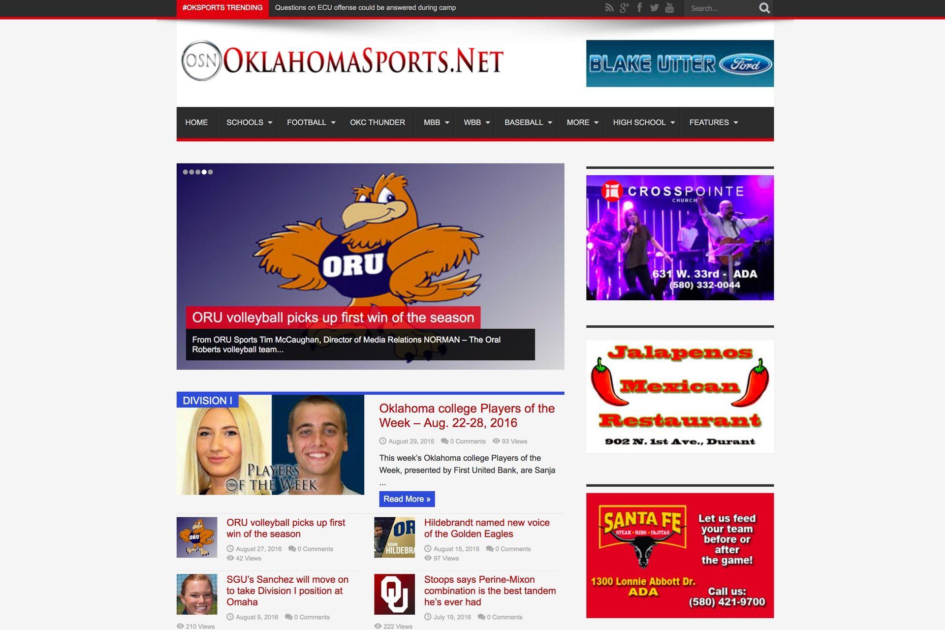 Portfolio Website Design Mcwilliams Media Web Design Broken Arrow Amp Tulsa Graphic Designer Portfolio Website Design Portfolio Website Design