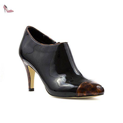 Chaussures Lotus Shoes noires femme LRdCWtnkPz