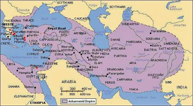 Iran Politics Club: Iran Historical Maps 2: Achaemenid Persian ...