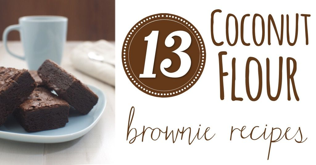 Got a craving for some grain-free brownies? Here are 13 coconut flour brownie recipes for you to choose from.