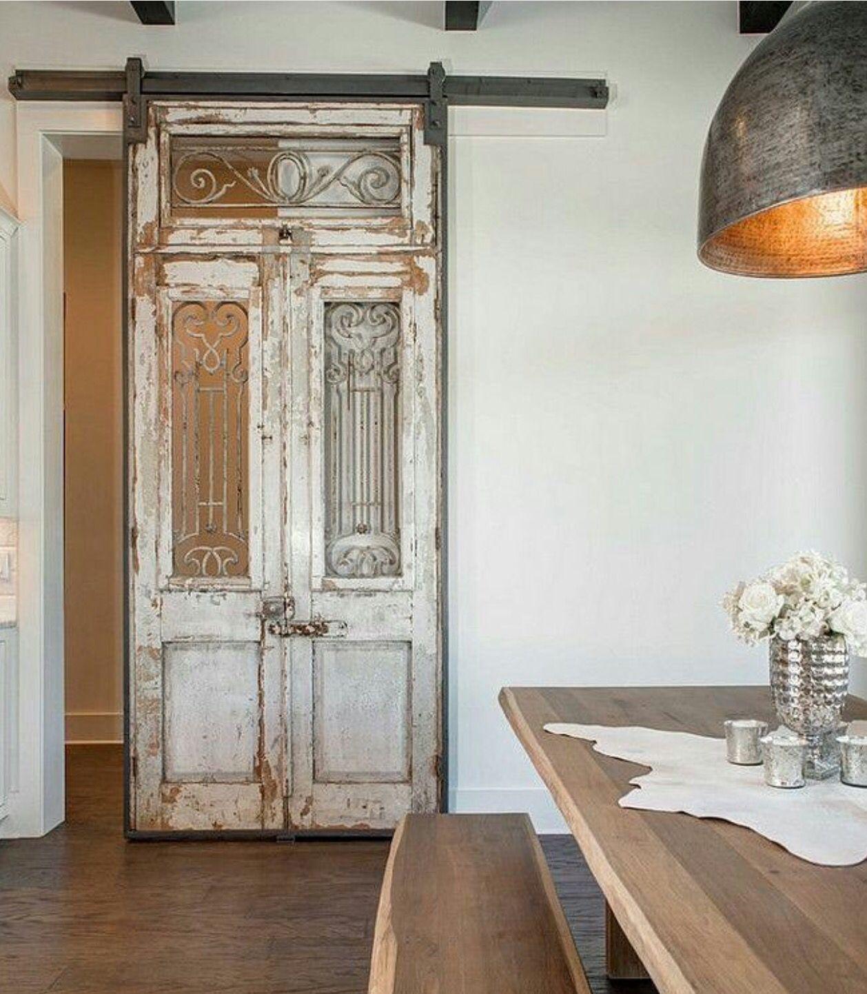 Antique doors house pinterest antique doors doors and barn doors