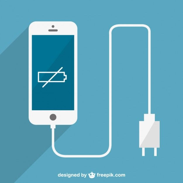 Phone Battery Charge Vector Free Download Vector Free