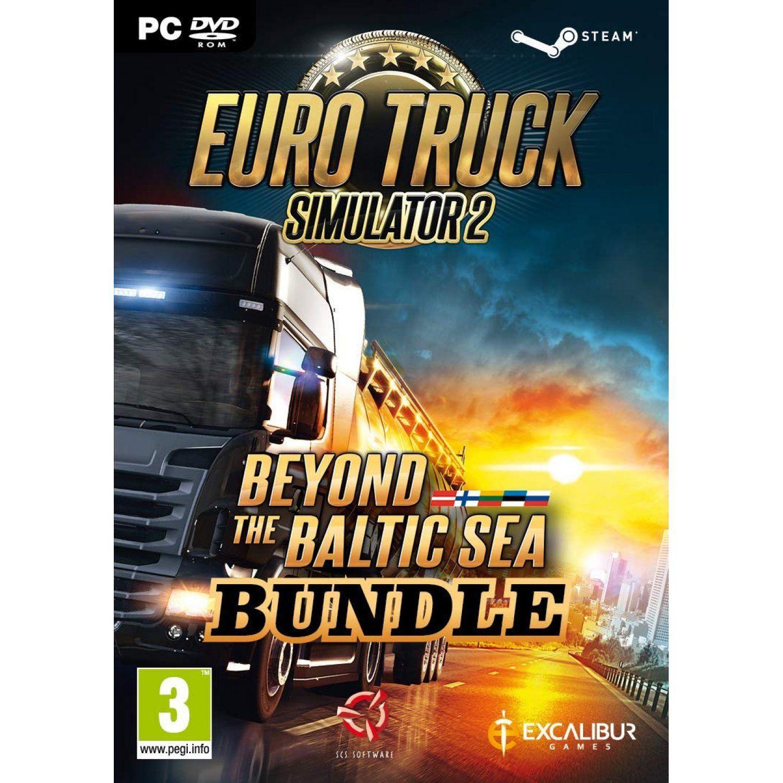 Euro Truck Simulator 2 Beyond The Baltic Sea Bundle Dvd Rom