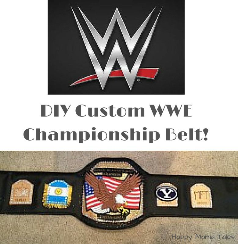 photo relating to Printable Wrestling Belt Template referred to as Do-it-yourself Personalized WWE Championship Belt Do-it-yourself crafts Wwe