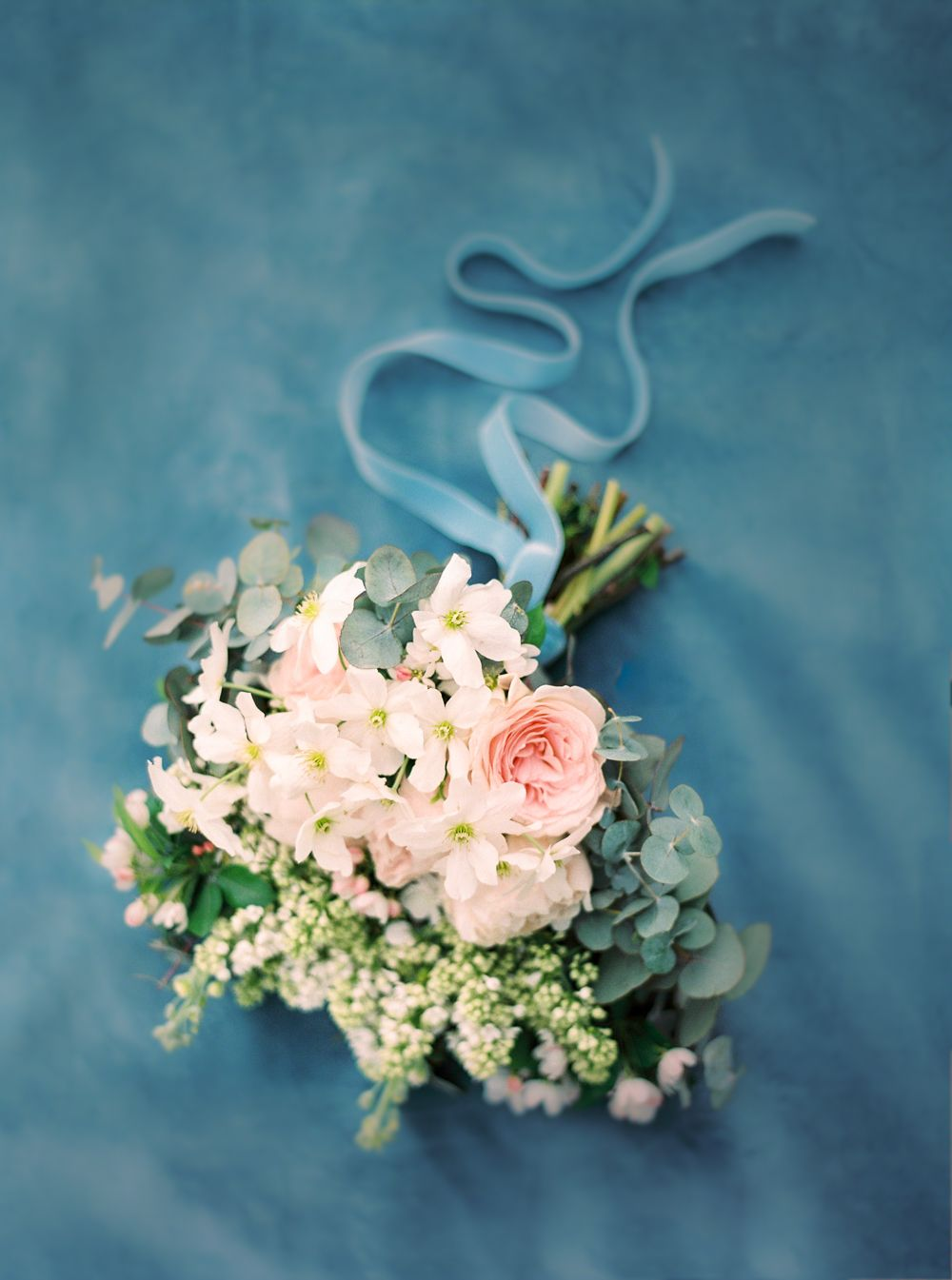 Castle Wedding In Germany In A French Blue Color Palette Velvet