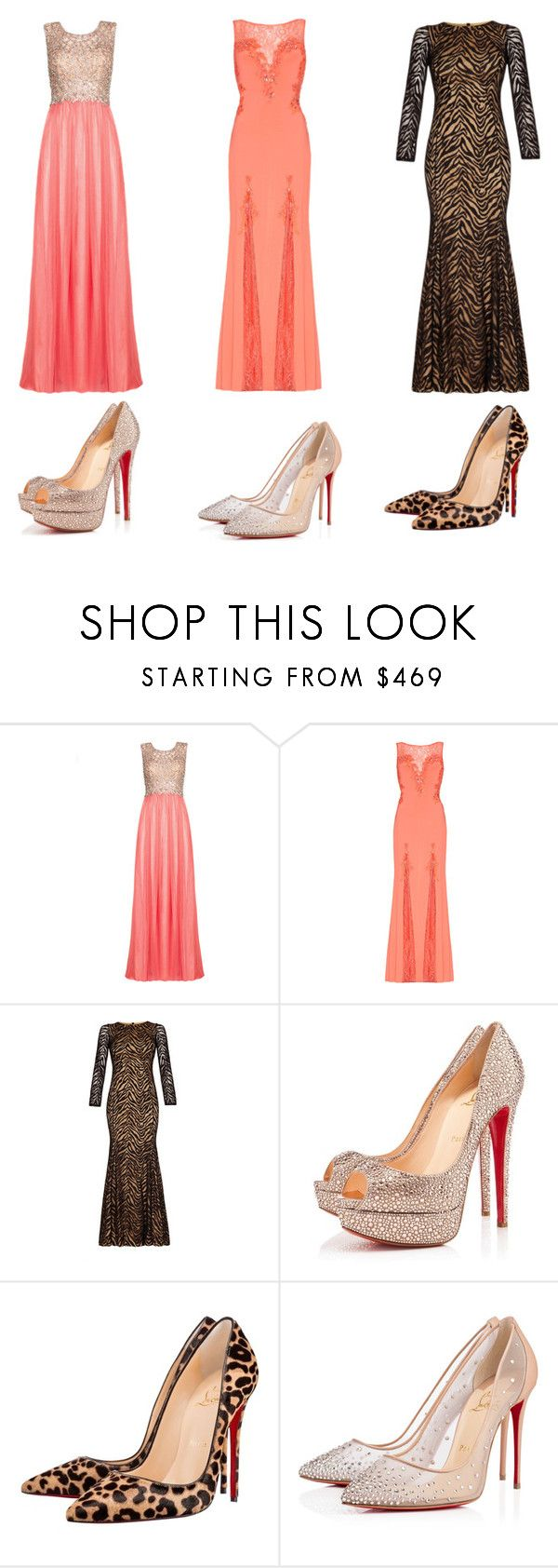 """Prom 2016 #8"" by luvtae ❤ liked on Polyvore featuring Christian Louboutin"