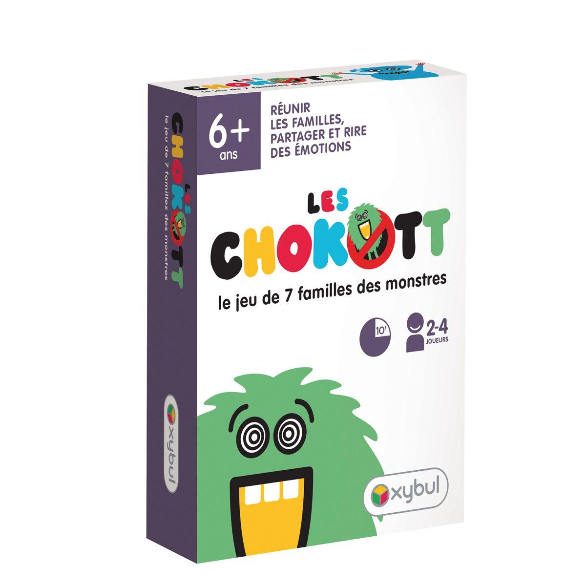 jeu de 7 familles des motions chokott oxybul pour enfant d s 6 ans oxybul veil et jeux. Black Bedroom Furniture Sets. Home Design Ideas
