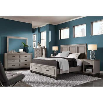Norah 48piece Queen Storage Bedroom Set My Dream Master Bedroom Simple Storage In Bedrooms Set