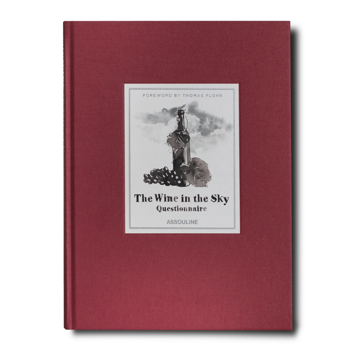 The Wine In The Sky Questionnaire Assouline Books Wine Book