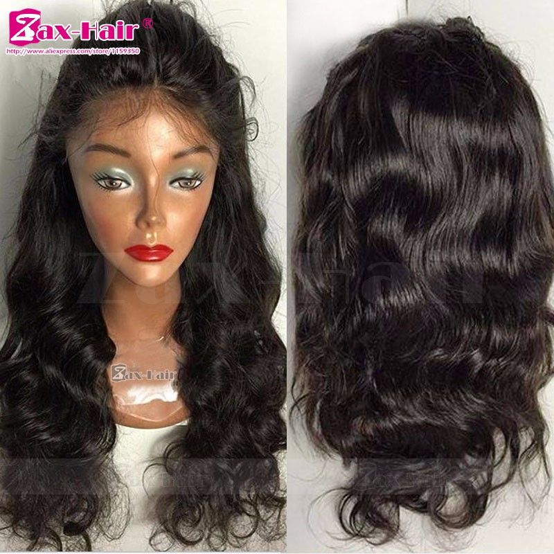Unprocessed Full Lace Wigs Hot Sale Silk Top Human Hair Lace Front ...