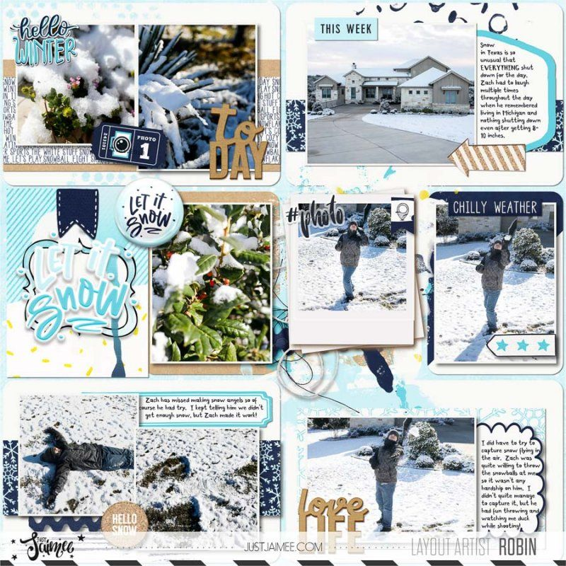 Snow Fun by Just Jaimee at http://the-lilypad.com/store/Snow-Fun ...