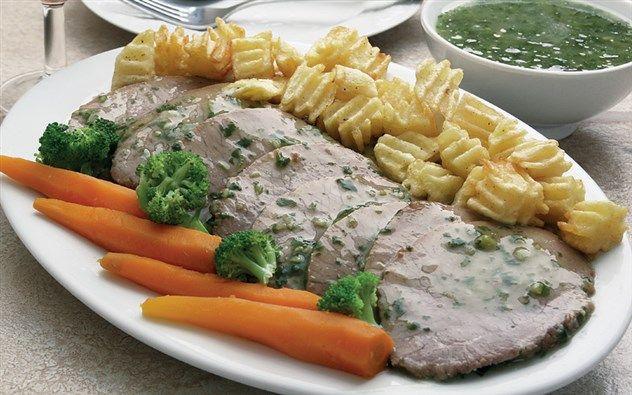 روستو بالثوم والكزبرة Meat Dishes Food Dishes