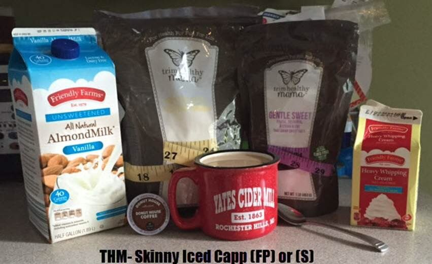 Skinny Iced Capp Trim healthy mama drinks, Keto drink