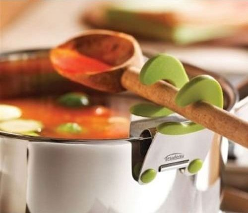 cool spoon-holder, from Comfort Inventions website