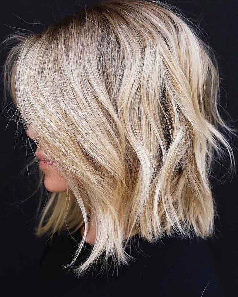 A Short Blonde Hairstyle Is The Perfect Fresh New Look For 2020 If You Re Looking For Something That S Simple A In 2020 Shag Hairstyles Hair Lengths Short Blonde Hair