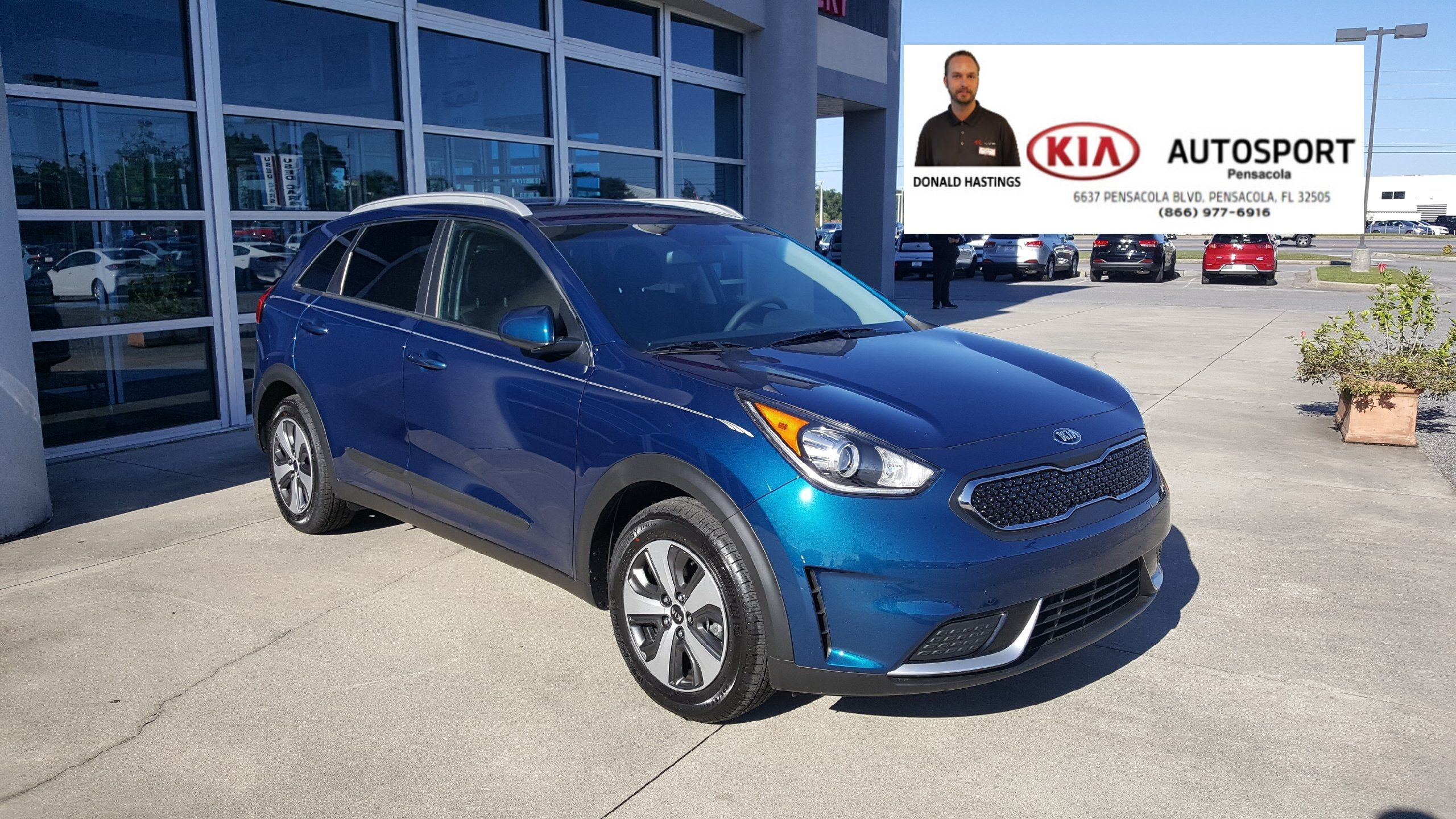 Donald Hastings And KIA AutoSport Of Pensacola Would Like To Thank The  Schrier On The Purchase