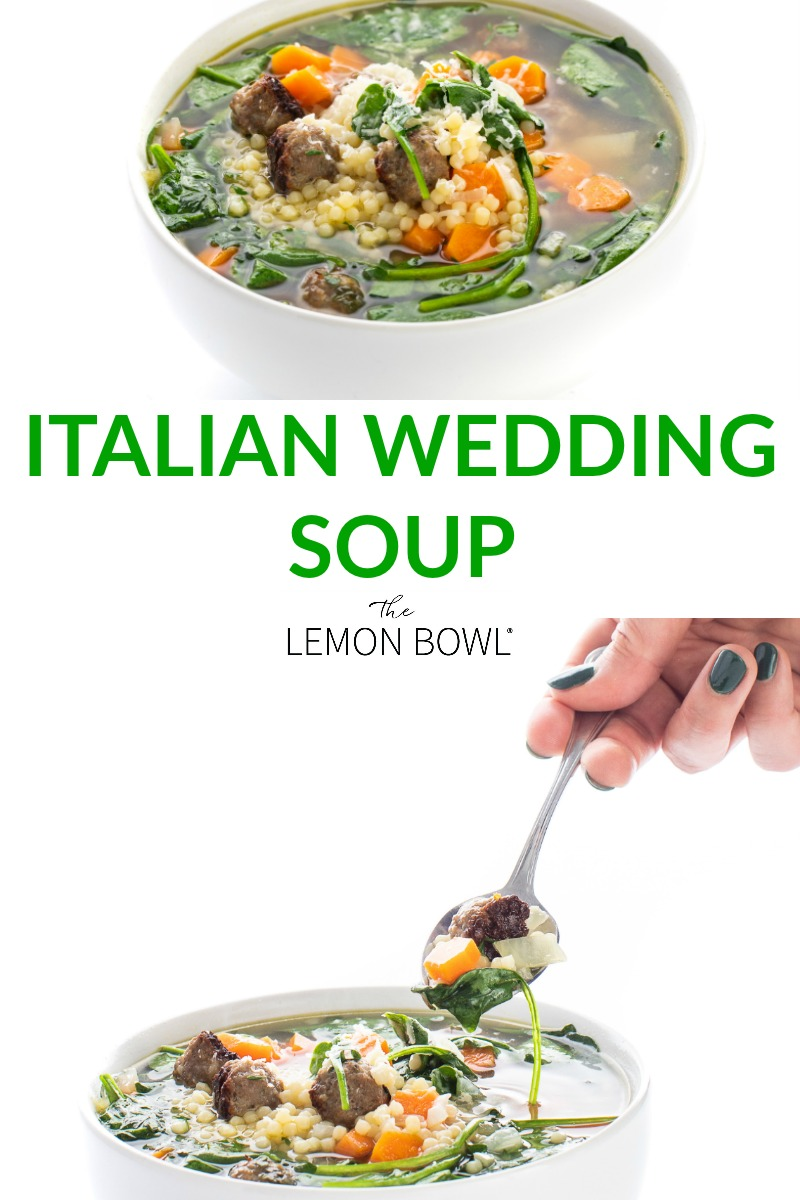 Best Italian Wedding Soup Recipe Soup recipes, Italian