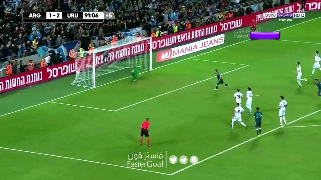 Messi Empatou Assistir Ao Gol De Messi Que Fez Argentina 2 X 2 Uruguai Amistoso Internacional Futebol Stats Messi Gol Empata