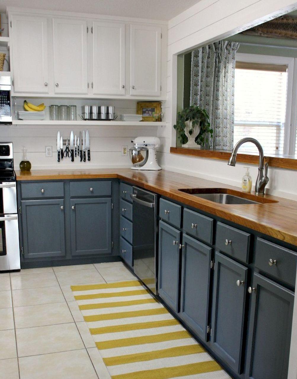 50 Fabulous Apartment Kitchen Cabinets Decor Ideas Apartment Kitchen Kitchen Remodel Small Grey Kitchen Designs Kitchen Design