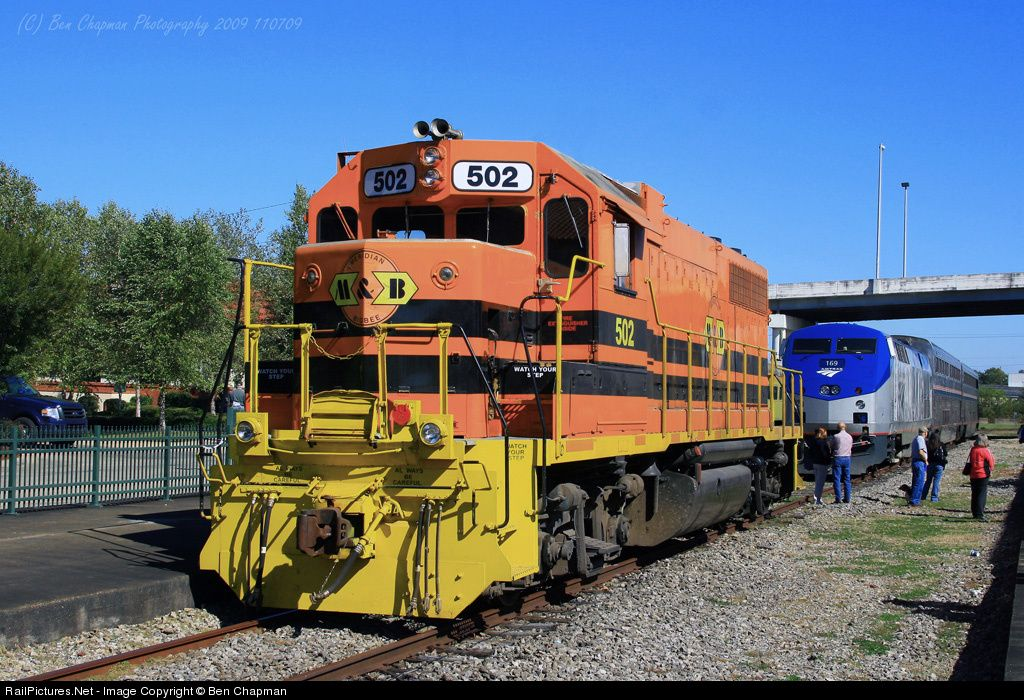 RailPictures.Net Photo: MB 502 Meridian & Bigbee EMD GP38 at Meridian, Mississippi by Ben Chapman