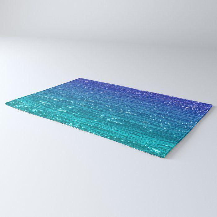 Sea Sparkle Rug By Catspaws 2 X 3