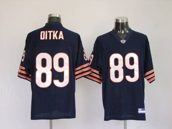 Bears #89 Mike Ditka Blue Embroidered NFL Jersey! Only $18.50USD  for cheap