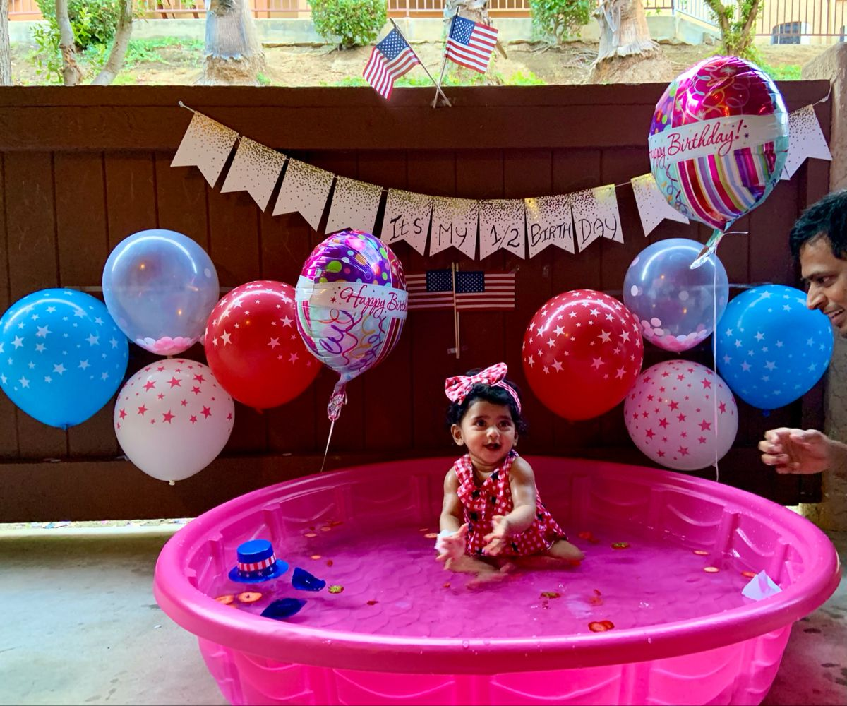 Baby Ishta photo shoot @ 1 - 12 Months
