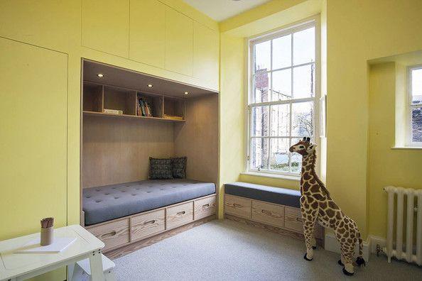 sleeping nook with storage