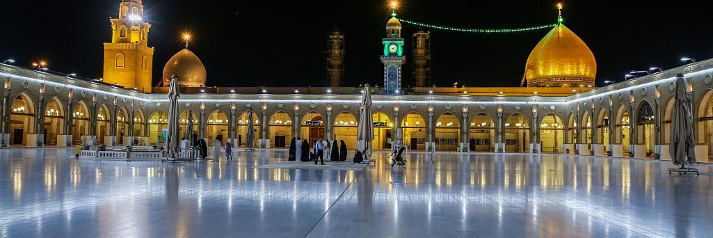 Maula Ali Shrine Wallpaper: Kufa Mosque, Najaf Province, Iraq
