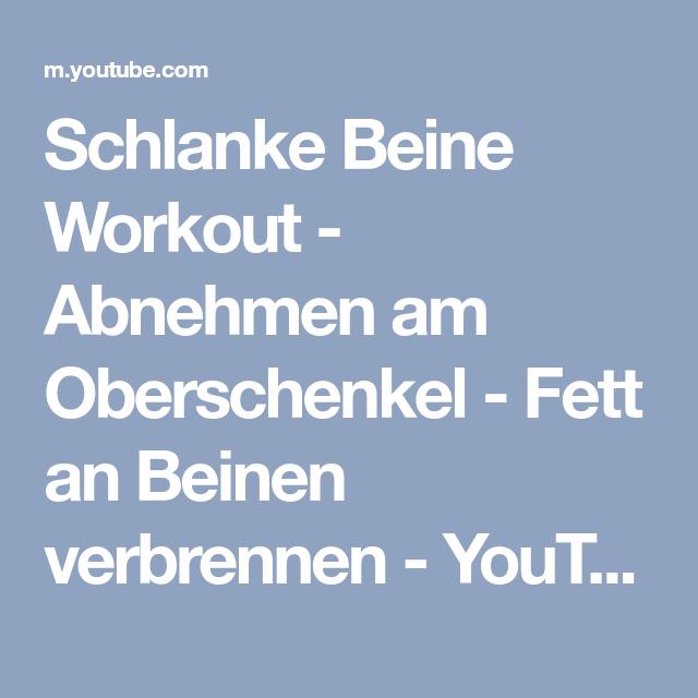 Laufband Workouts, um Oberschenkelfett zu verlieren