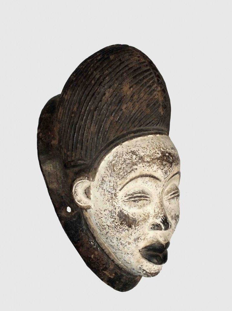 Grace, celebration of a life past and so precious to me... Punu Mask